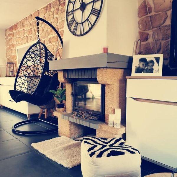 La décoration de salon chaleureuse de Mélodie