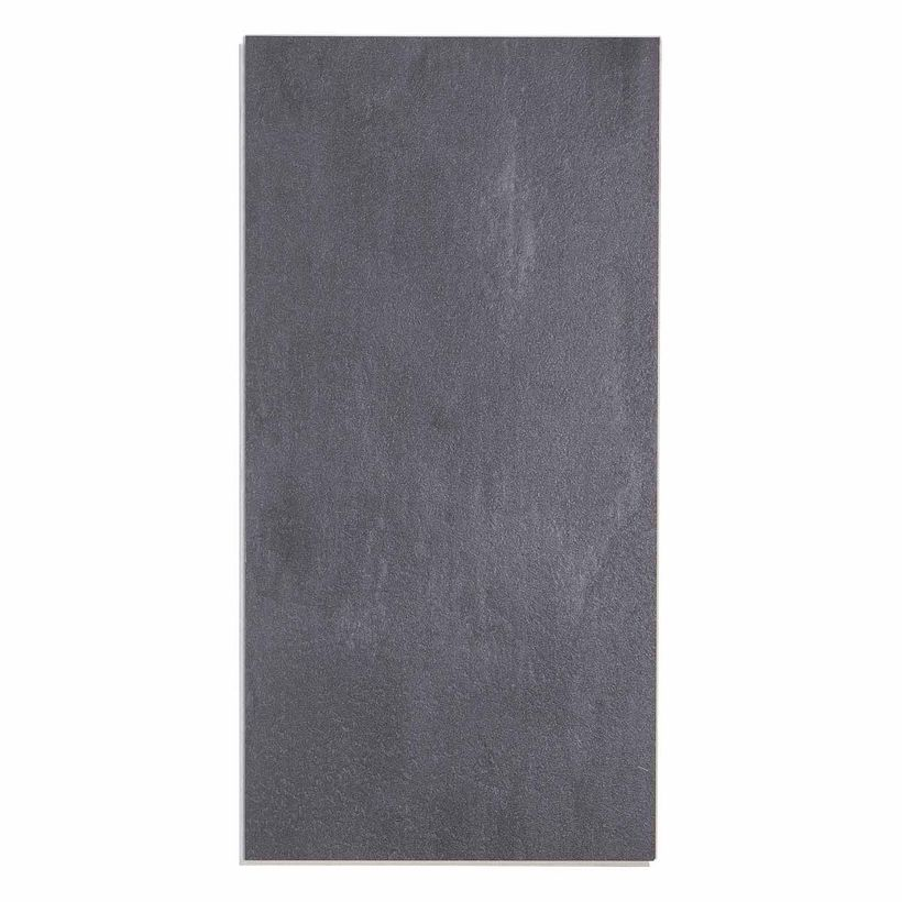 Dalle PVC clipsable béton anthracite 5,5mm Novaria