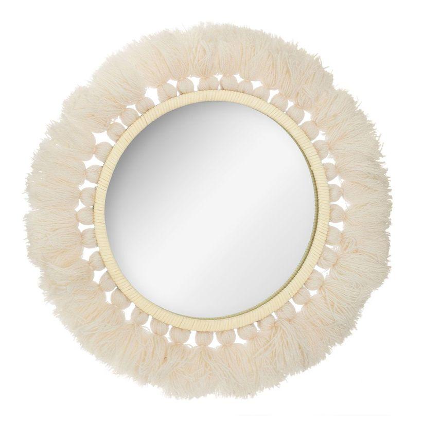 Miroir pompon