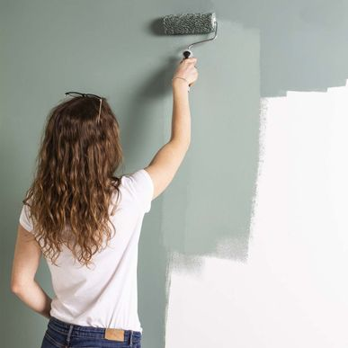 Peinture Satin Monocouche Vert De Gris Nuanza 2 5l Kalico