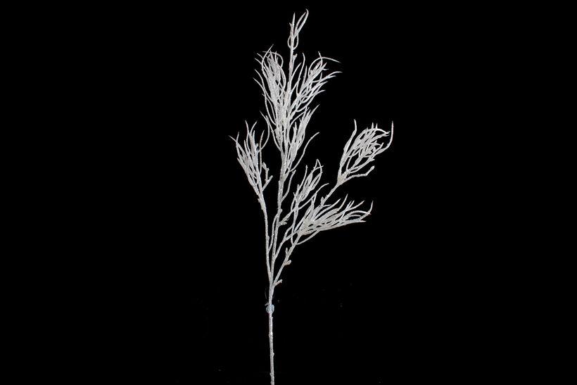 Branche artificielle paillette blanc