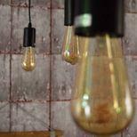 Ampoule filament LED goutte torsade D.6 x H.14 cm