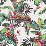 Papier peint duplex panthère jungle Brighton