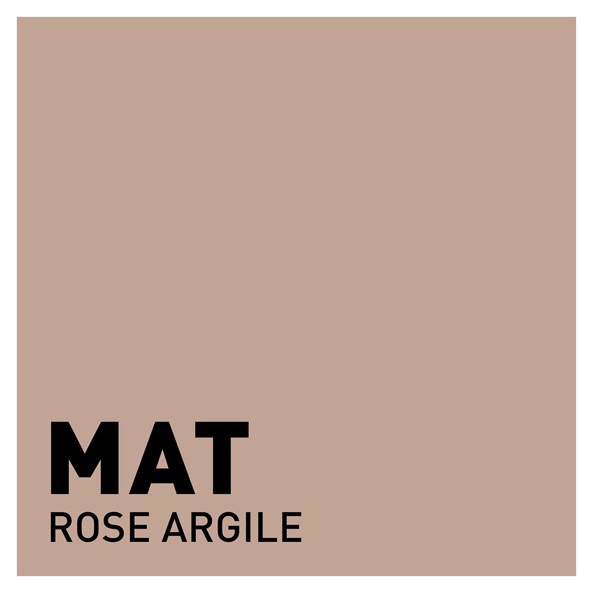 Peinture rose argile mat 20 minutes chrono Renaulac