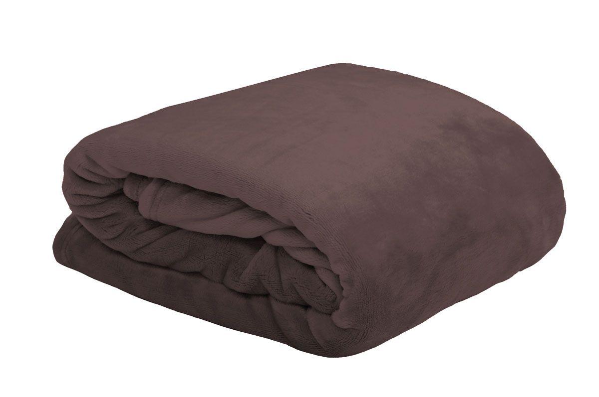 Plaid Doudou couverture réglisse 180x220cm