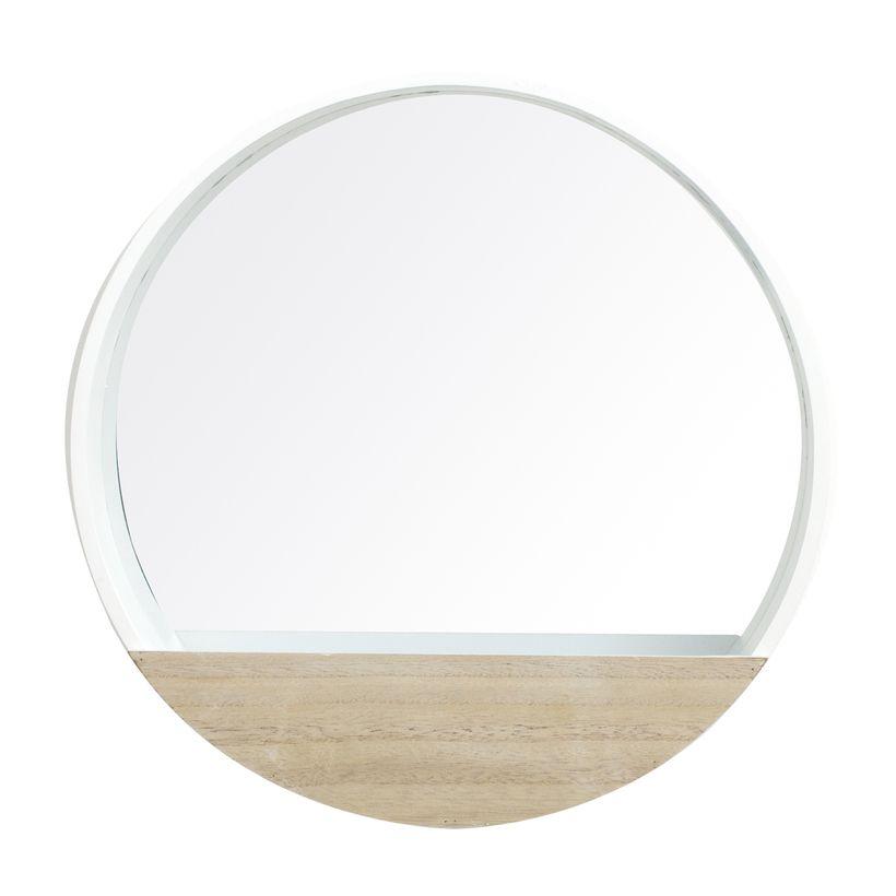 Miroir bois rond Lovely