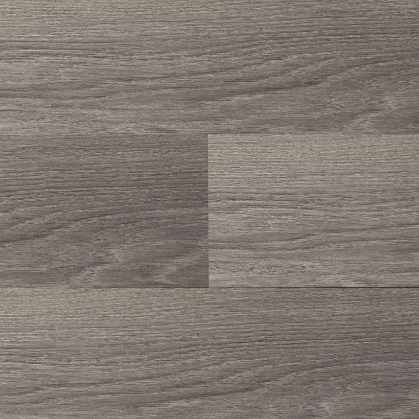 Lame clipsable aspect chêne brun gris 4mm Aquila
