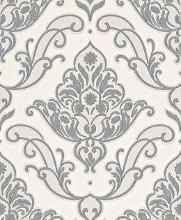 Papier Peint Baroque Gris Cronins Gris Vinyl Papier Kalico