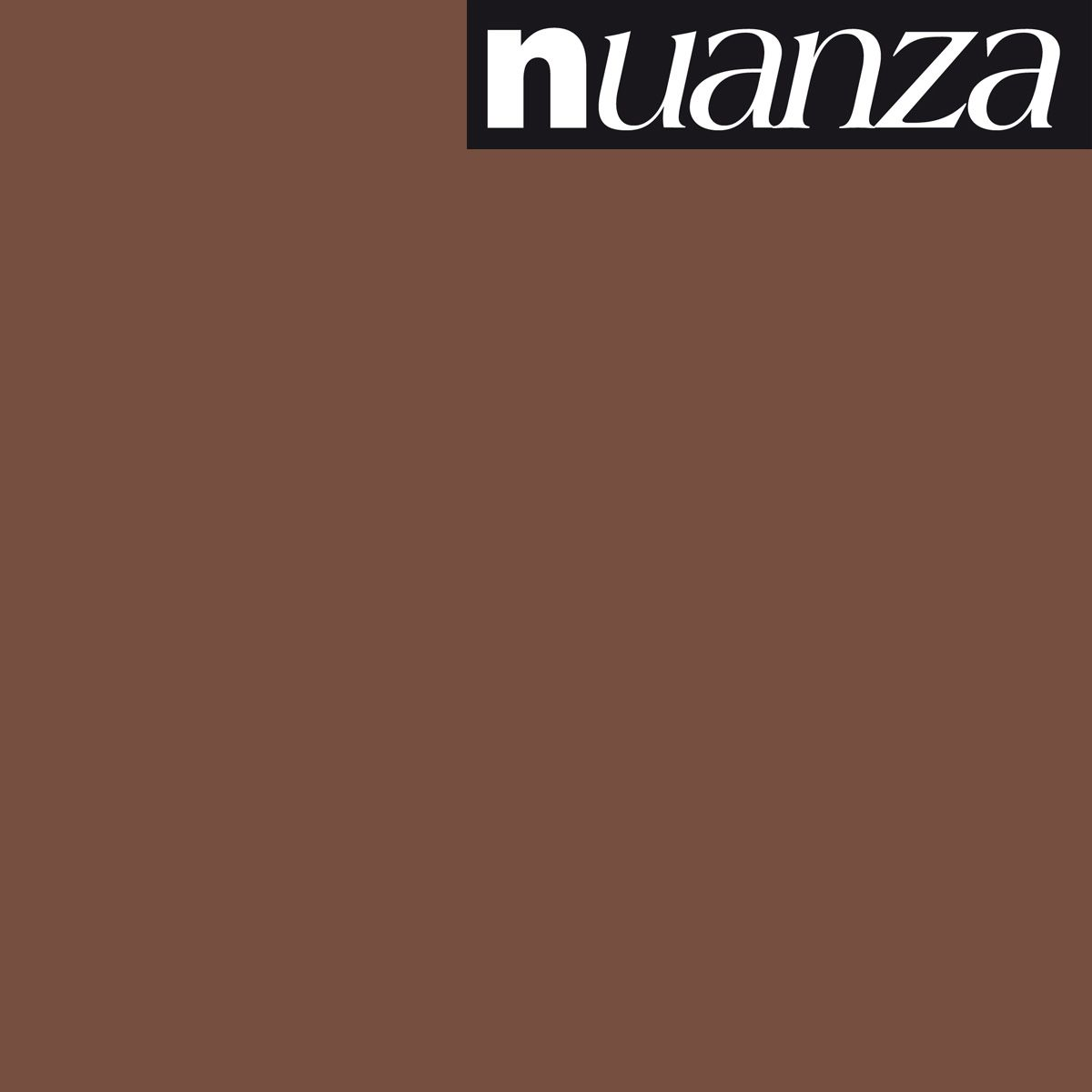 Peinture Nuanza satin monocouche chataigne 2.5l