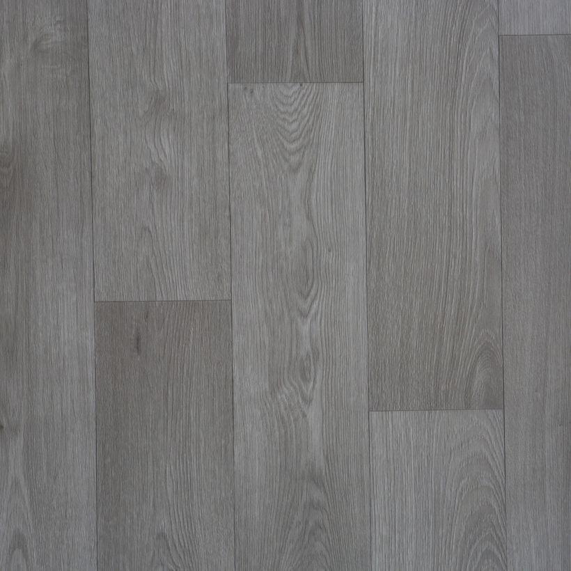 Sol PVC bois taupe Verone 200cm