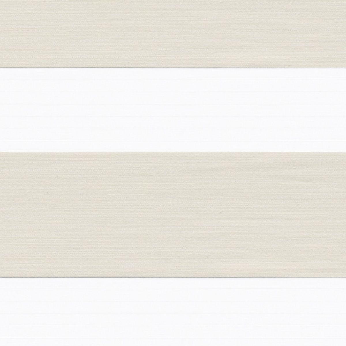 Store jour-nuit métallisé Kov blanc 42x250cm