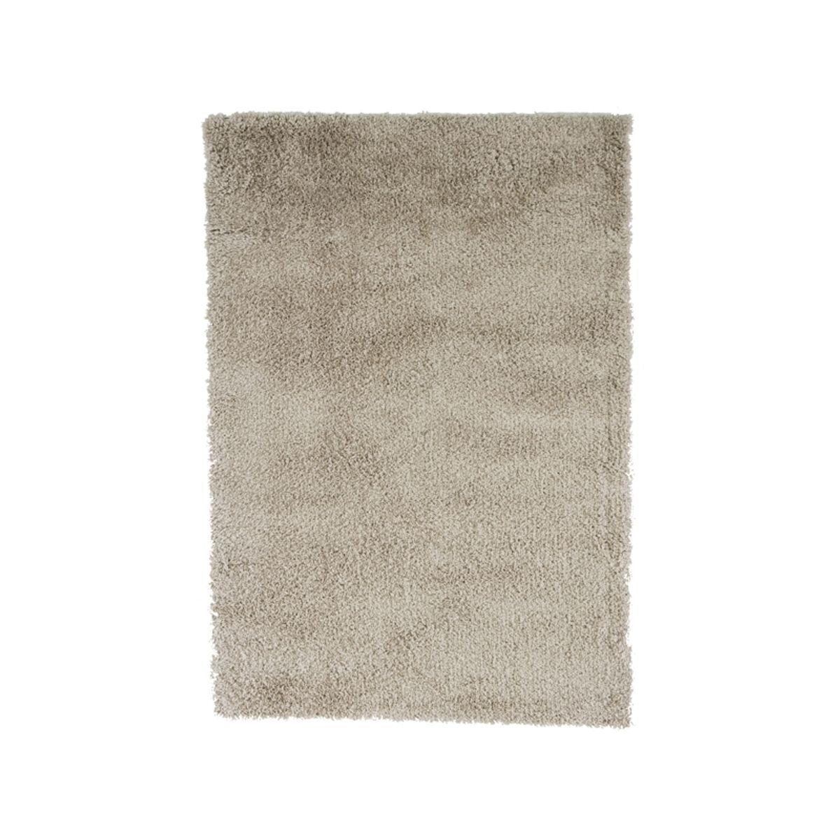 Tapis shaggy blanc nuage Softy 50x80 cm