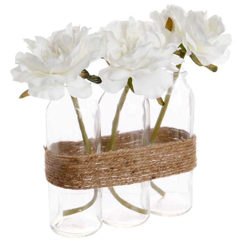 Composition florale tube
