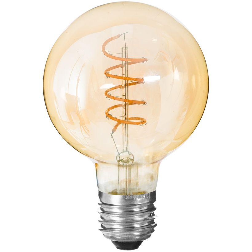 Ampoule filament LED torsade D.9 x H.14 cm