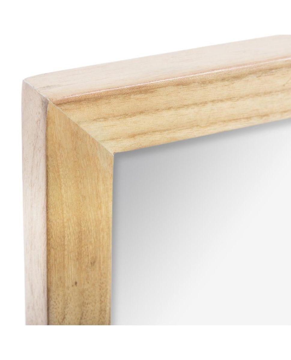 Miroir atelier en bois